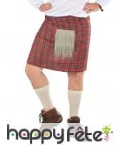 Kilt d'écossais avec fausse fourrure, image 1
