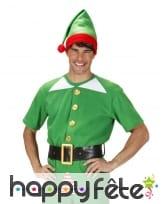 Kit d'elfe de Noël pour adulte