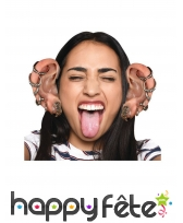 Kit de grosses oreilles avec piercings Bugalugs