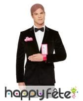 Kit de Ken, perruque, broche et bracelet