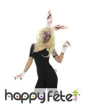 Kit de lapin zombie pour femme
