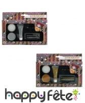 Kit de maquillage à paillettes