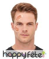 Kit de maquillage extra-terrestre pour adulte, image 1