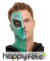 Kit de maquillage extra-terrestre pour adulte