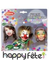 Kit de maquillage fantaisie pour enfant