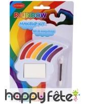 Kit de maquillage gaypride