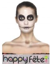 Kit de maquillage jour des morts, décalcomanies, image 3