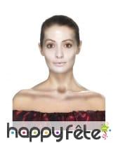 Kit de maquillage jour des morts, décalcomanies, image 2