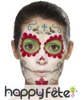 Kit de maquillage jour des morts girly, image 4