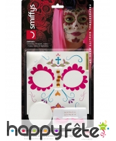 Kit de maquillage jour des morts girly, image 6