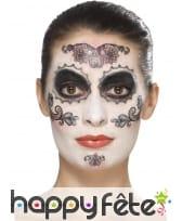 Kit de maquillage jour des morts glamour, image 4