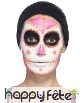 Kit de maquillage jour des morts néon UV, image 10
