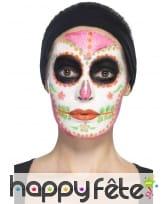 Kit de maquillage jour des morts néon UV, image 11