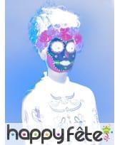 Kit de maquillage jour des morts néon UV, image 12