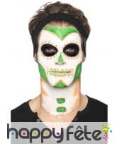 Kit de maquillage jour des morts néon UV, image 3