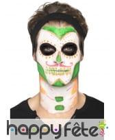 Kit de maquillage jour des morts néon UV, image 4