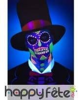 Kit de maquillage jour des morts néon UV, image 5