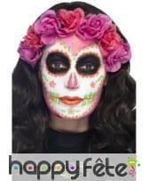Kit de maquillage jour des morts néon UV, image 7