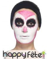 Kit de maquillage jour des morts néon UV, image 9