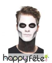 Kit de maquillage jour des morts pour homme, image 2