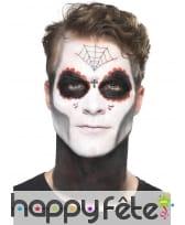 Kit de maquillage jour des morts pour homme, image 3