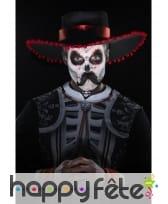 Kit de maquillage jour des morts pour homme, image 5