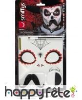Kit de maquillage jour des morts pour homme, image 6