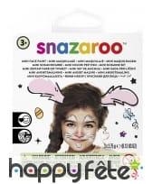 Kit de maquillage pour devenir un petit lapin