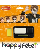 Kit de maquillage squelette, image 1