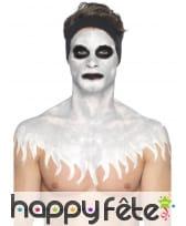 Kit de maquillage squelette néon, réagit aux UV, image 10