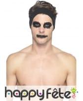 Kit de maquillage squelette néon, réagit aux UV, image 8