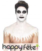 Kit de maquillage squelette néon, réagit aux UV, image 9