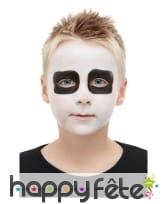 Kit de maquillage squelette pour enfant, image 3