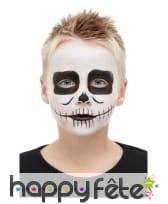 Kit de maquillage squelette pour enfant, image 4