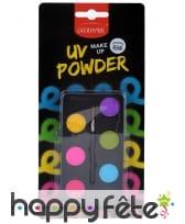 Kit de maquillage UV 6 couleurs