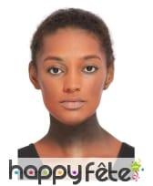 Kit de maquillage visage de citrouille halloween, image 1