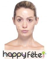 Kit de maquillage zombie, image 10