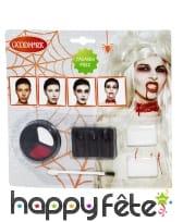 Kit de maquillage zombie pour femme