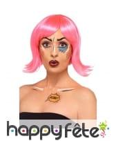 Kit de maquille pop art à l'eau