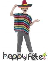 Kit déguisement mexicain pour enfant, image 1