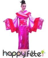 Kimono d'Osaka fuschia