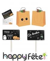 Kit de petit chasseur de bonbons pour Halloween