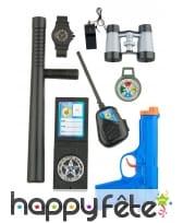 Kit de petit Policier pour enfant