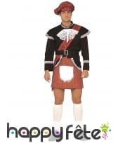 Kilt écossais rigolo avec zizi caché