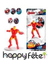 Kit Iron Man de décorations de gâteaux, image 1