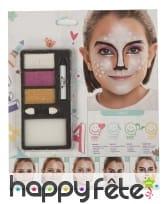 Kit maquillage animal de la foret pour enfant