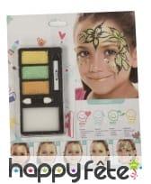 Kit maquillage princesse de la nature pour enfant
