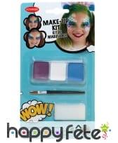 Kit maquillage sirène pour enfant