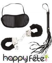 Kit noir de séductrice pour femme adulte, image 1