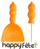 Kit orange pour découpe de citrouille